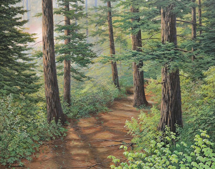 Trail of Green by Jake Vandenbrink