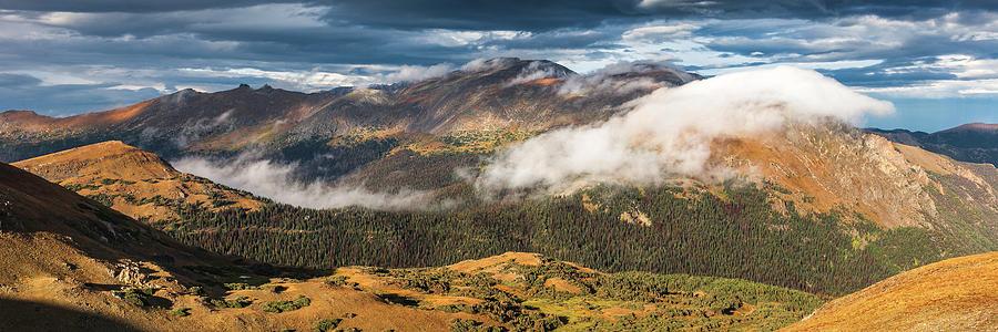 Colorado Photograph - Trail Ridge Overlook by T-S Fine Art Landscape Photography
