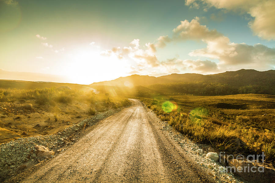 Road Photograph - Trail To Trial by Jorgo Photography - Wall Art Gallery