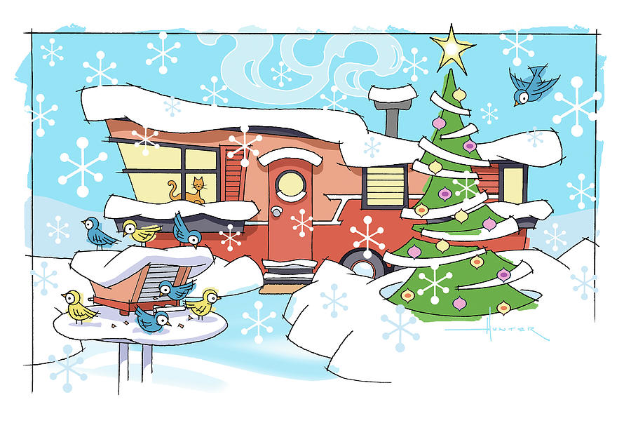 Trailer Park Christmas by Larry Hunter