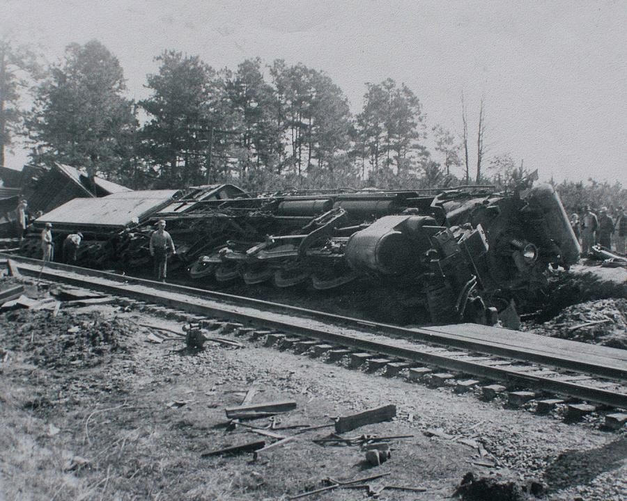 Train Derailment by Jeanne May