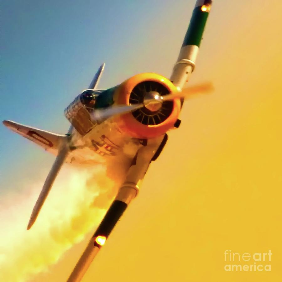 Airplane Photograph - Train For Combat by Gus McCrea
