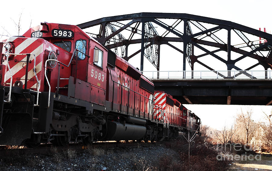 Images Photograph - Train by John Rizzuto