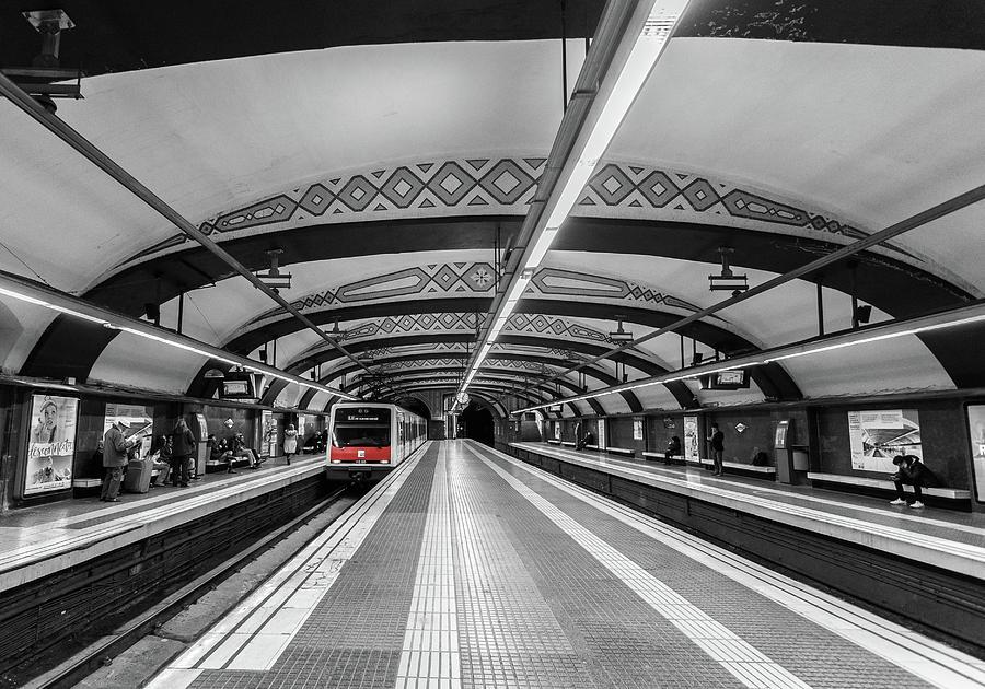 Train Photograph - Train by Sergey Simanovsky