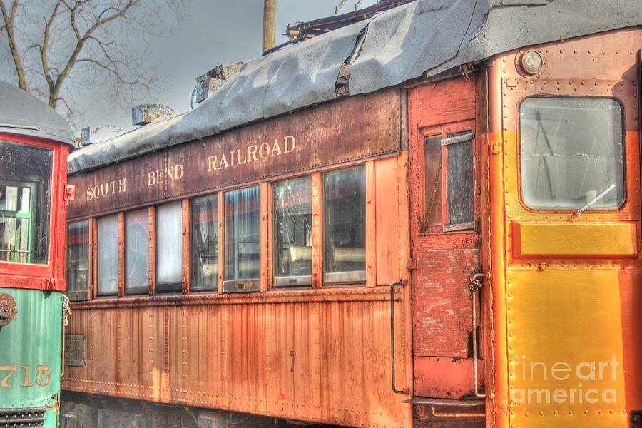 Trains Photograph - Train Series 5 by David Bearden