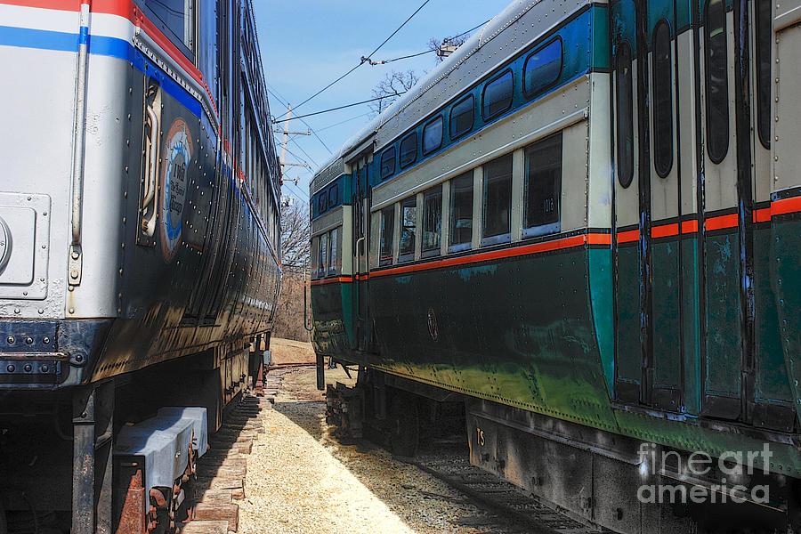Trains Photograph - Train Series 6 by David Bearden