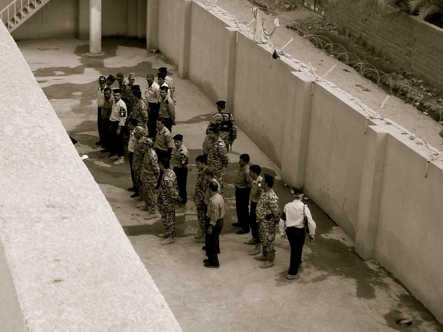 Iraq Photograph - Training Iraqi Police by Aimee Galicia Torres