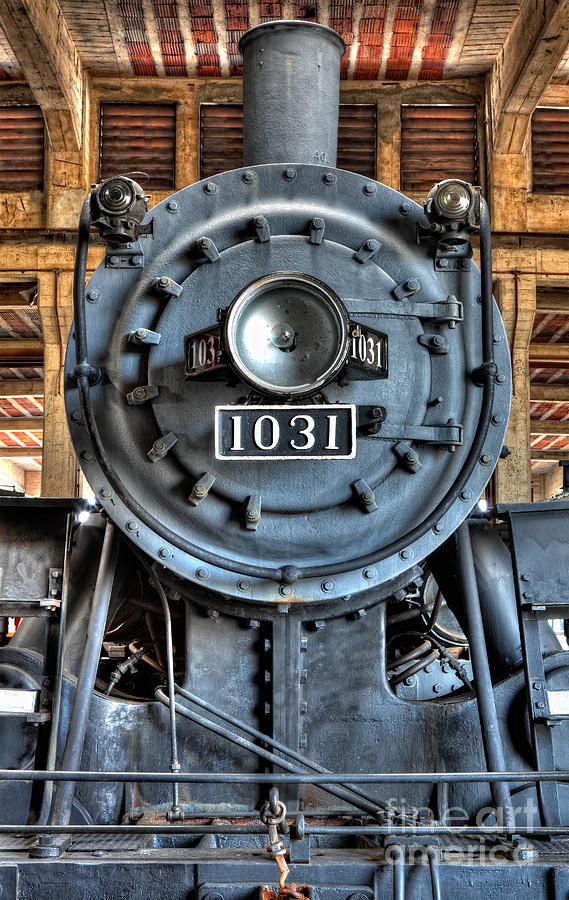 North Carolina Photograph - Trains - Steam Locomotive 1031 by Dan Carmichael