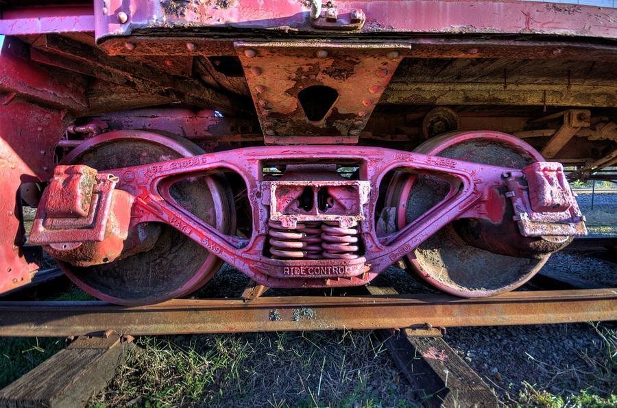 Trains Photograph - Trains by Rod Cuellar