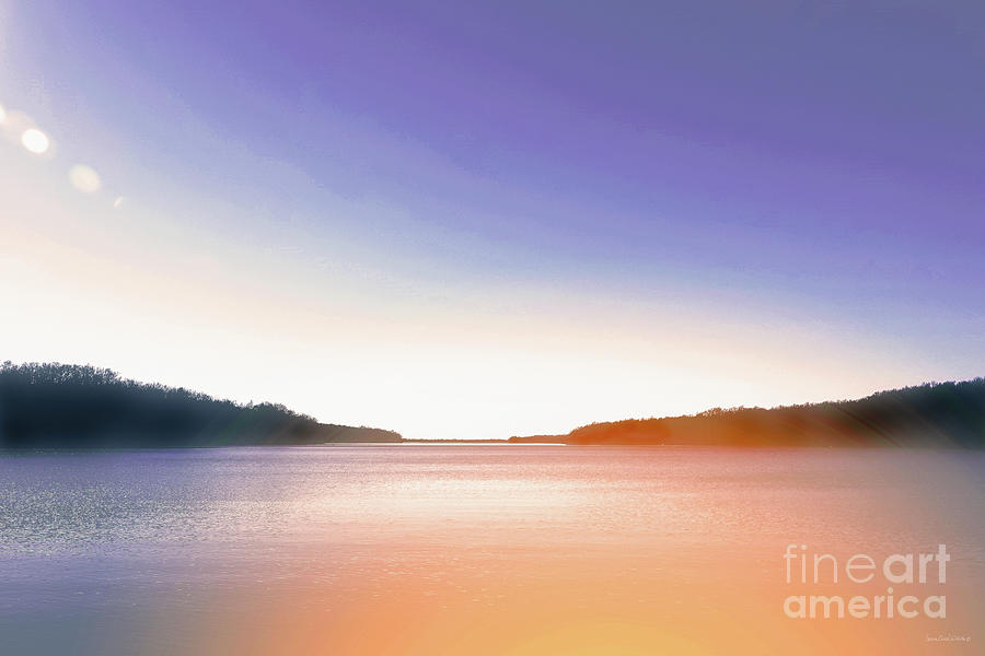 Interior Design Photograph - Tranquil Afternoon At The Lake by Lena Wilhite