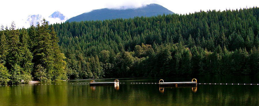 Lake Photograph - Tranquil Alice Lake by Caroline Reyes-Loughrey