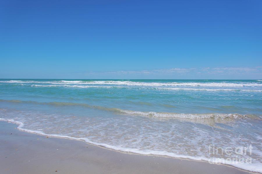 Tranquil Beach Photograph