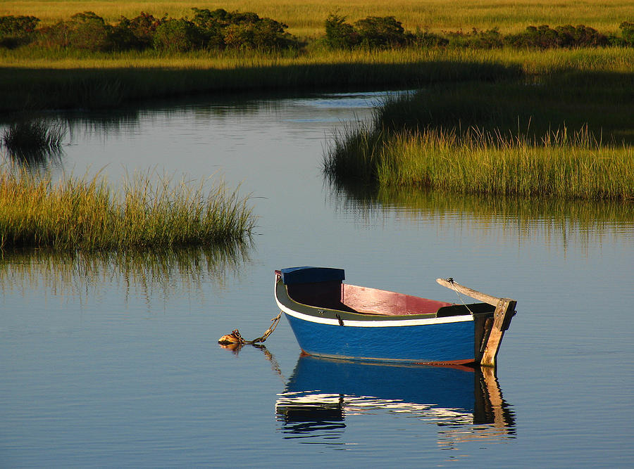 Solitude Photograph - Tranquil Cape Cod Photography by Juergen Roth