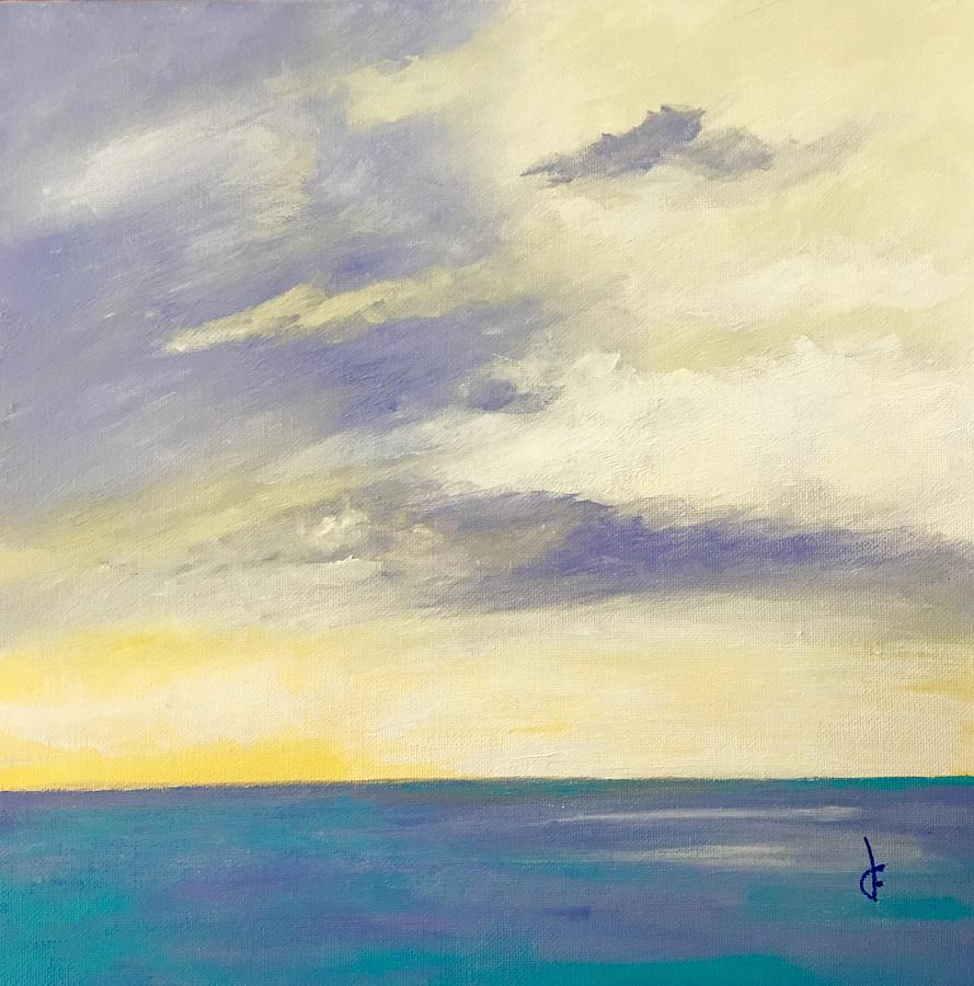 Tranquil Dawn Painting by Danielle Fry