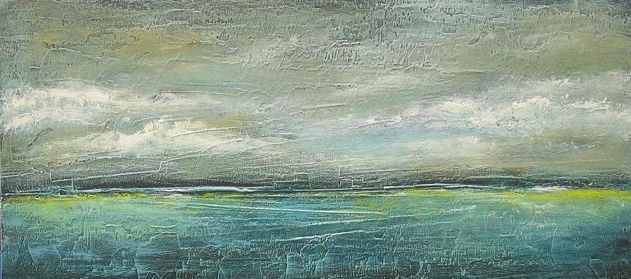 Landscape Painting - Tranquil by Ellen Lewis