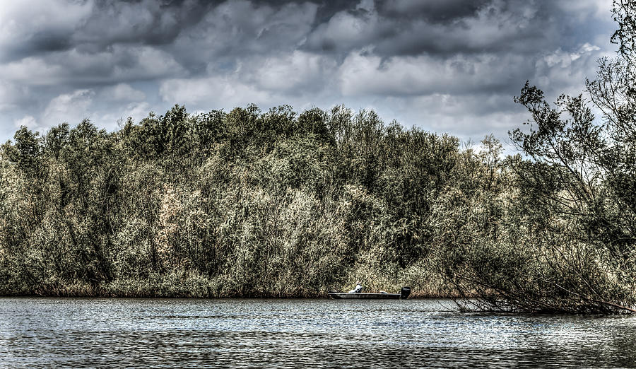 Sky Photograph - Tranquil Fishing Spot  by Debra Forand