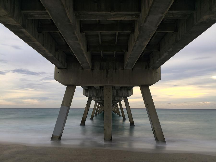 Tranquil Pier #2 by Juan Montalvo