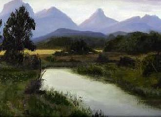 Virginia Painting - Tranquility by Graham Murray