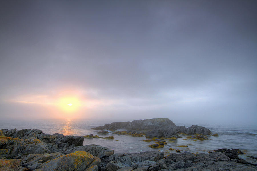 Fog Photograph - Tranquility by Geoffrey Whiteway