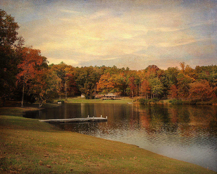Autumn Photograph - Tranquility by Jai Johnson