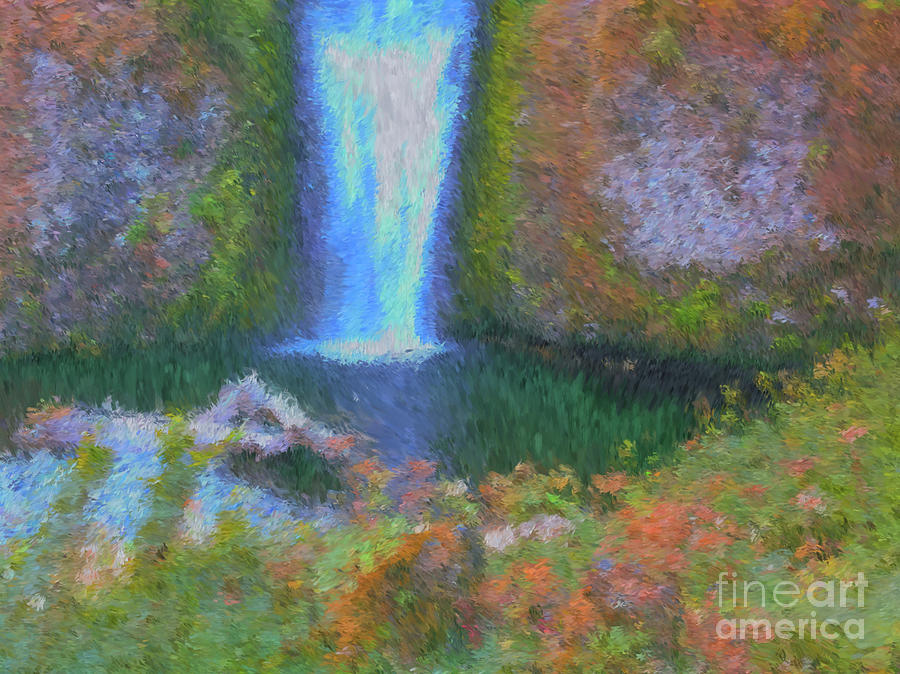 Tranquility Painting - Tranquility by Methune Hively
