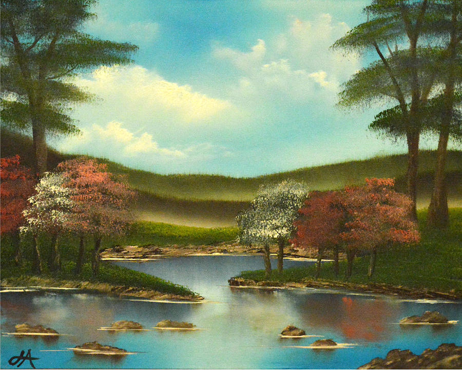 Tranquility Painting - Peace In The Valley by Jerod Anderson