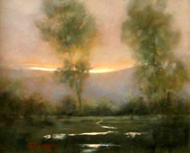 Tranquility Painting by Shirley McKay