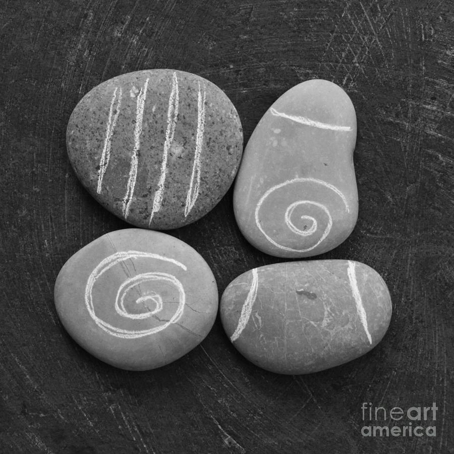 Tranquility Stones Mixed Media