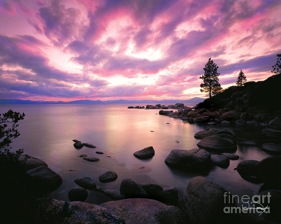 Lake Tahoe Photograph - Tranquility  by Vance Fox