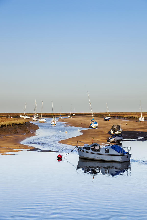 Wells Next The Sea Photograph - Tranquility - Wells Next The Sea Norfolk by Gillian Dernie