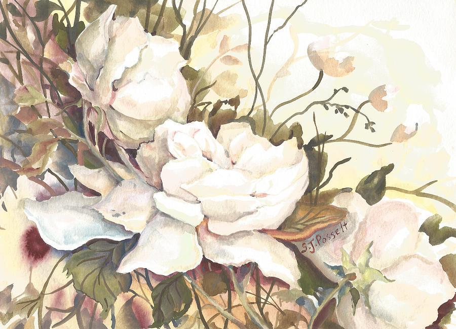 Tranquility Study in White by Sheri Jo Posselt