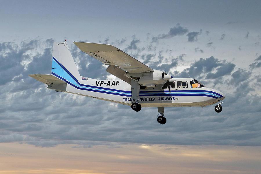 Trans Anguilla Airways Britten-norman Bn-2b-21 Islander 113 by Smart  Aviation