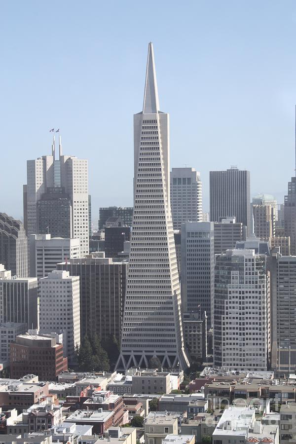 Transamerica Pyramid In San Francisco Photograph by John ...