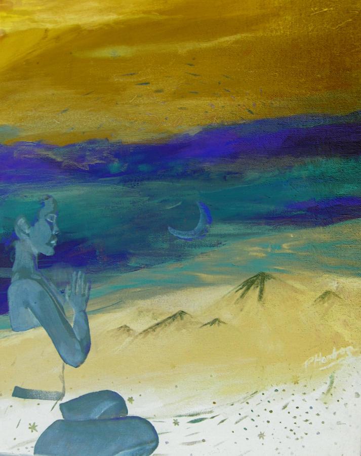 Moon Digital Art - Transcendental Alter Ego by Penfield Hondros