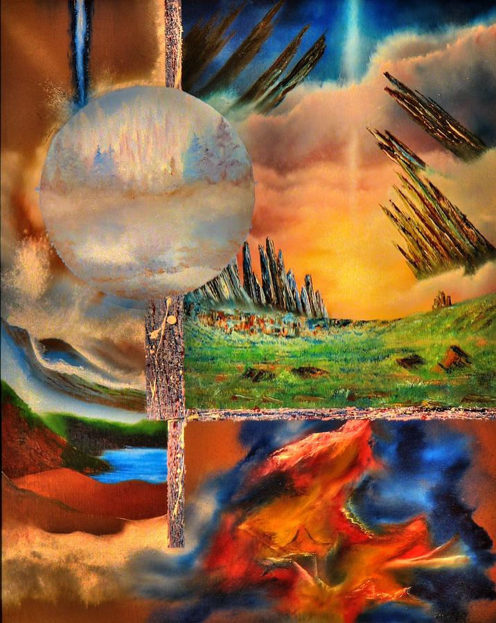 Transcendental.  Light Unity Painting by Joseph Ewasow