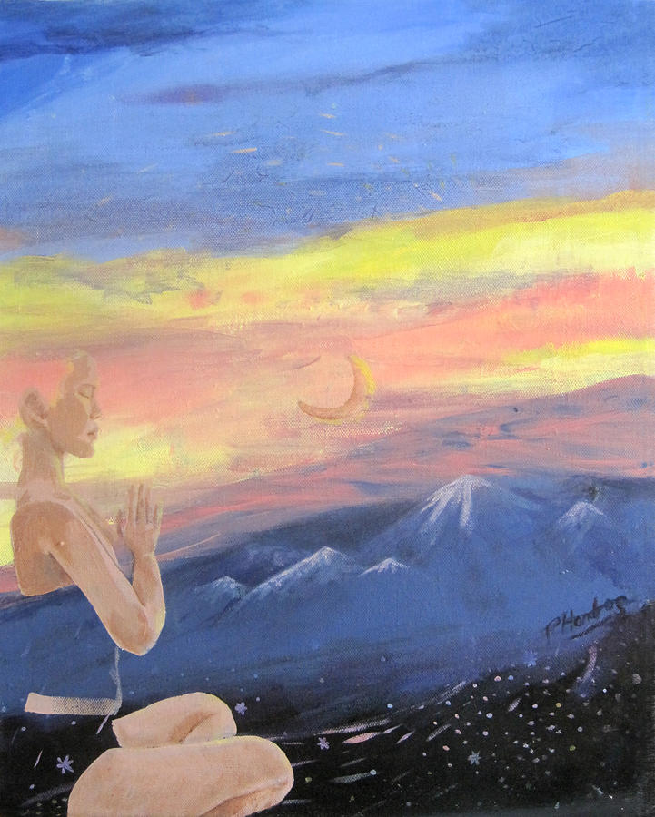 Mountains Painting - Transcendental by Penfield Hondros