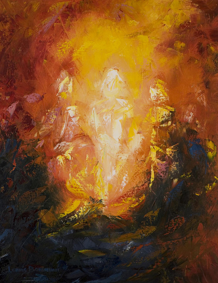 Transfiguration Painting by Lewis Bowman
