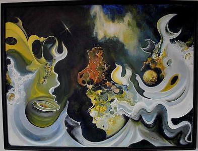 Energy Never Dies Painting - Transformation by Charles De SanJuan