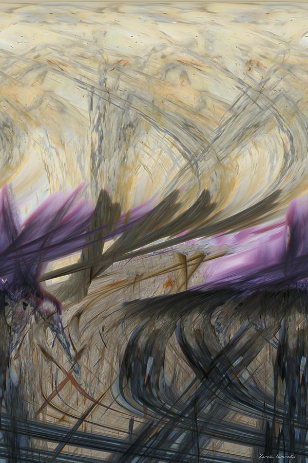 Digital Painting Digital Art - Transformation by Linda Sannuti