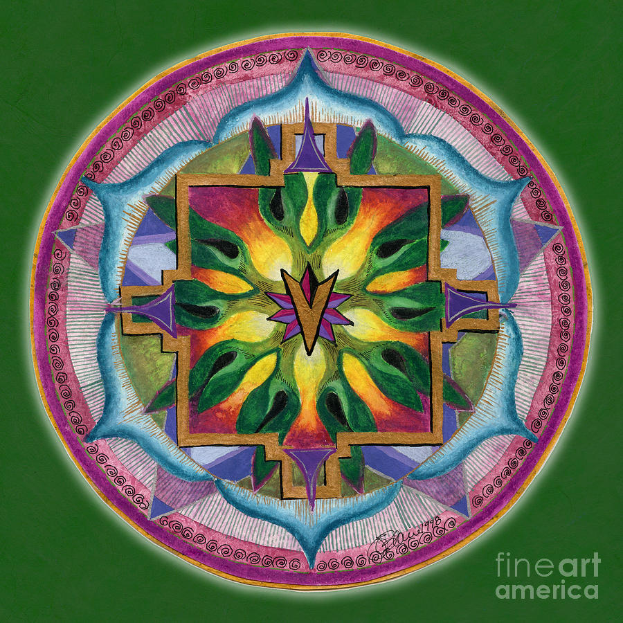 Transformation Mandala by Jo Thomas Blaine