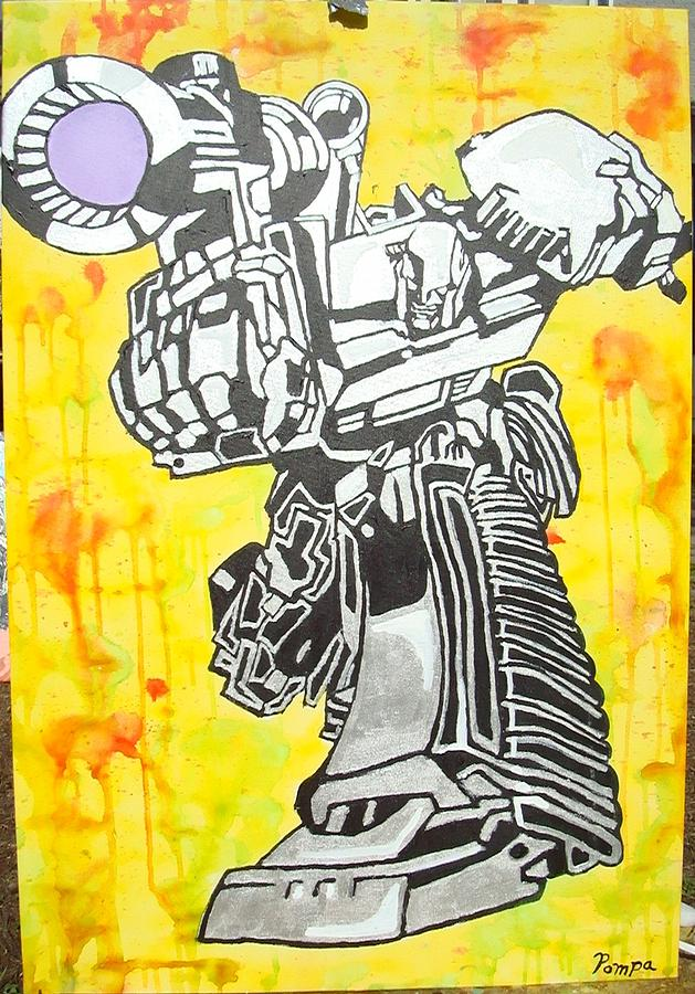 Transformer Painting - Transformer by Charles Harrison Pompa