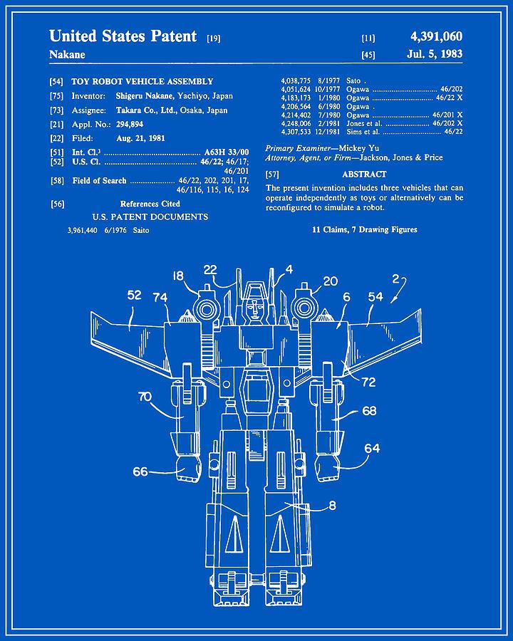 Transformers patent blueprint digital art by finlay mcnevin patent digital art transformers patent blueprint by finlay mcnevin malvernweather Gallery
