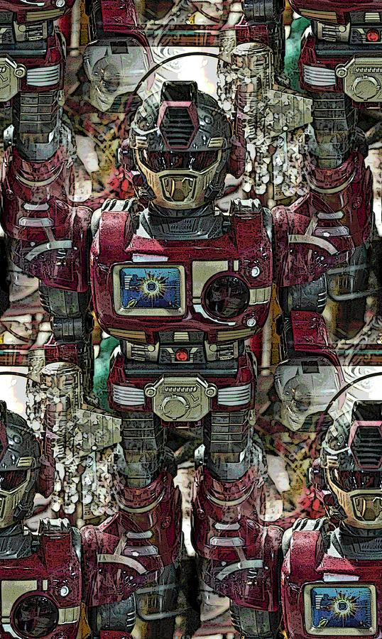 Robot Photograph - Transformique For Sale by Gwyn Newcombe