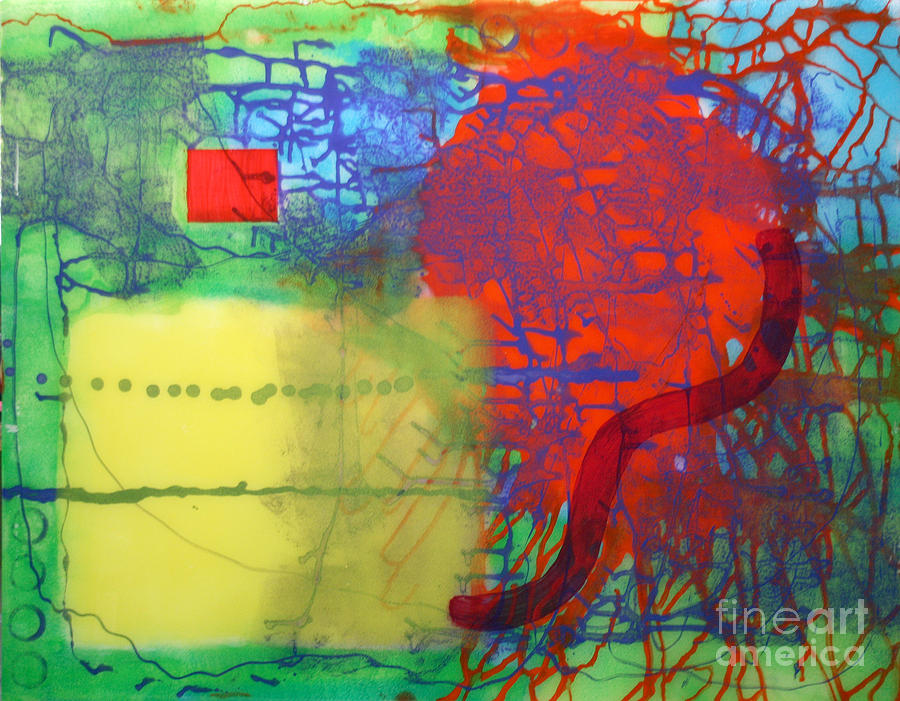 Abstract Painting - Transit by Mordecai Colodner