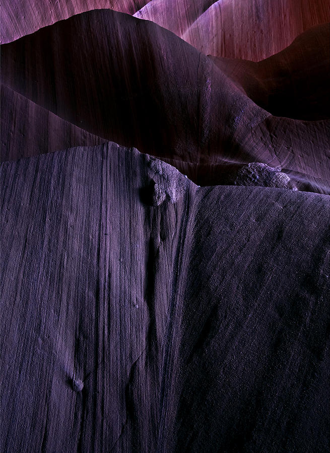 Sandstone Photograph - Transitions by Mike  Dawson