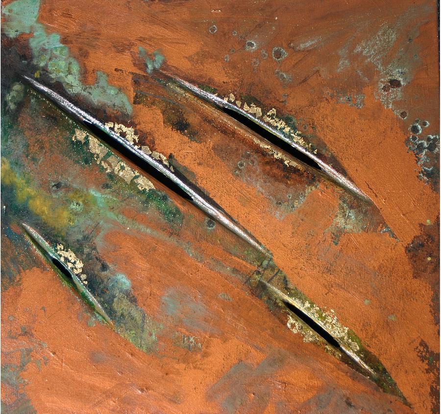 Landscape Painting - Transitory Marks I by Dodd Holsapple