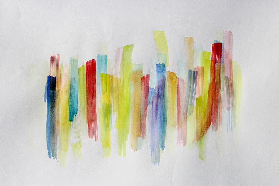 Watercolor Painting - Translucent by Tom Atkins