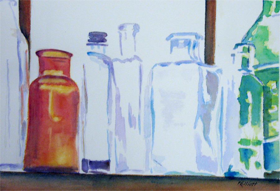 Glass Painting - Transparencies by Marsha Elliott