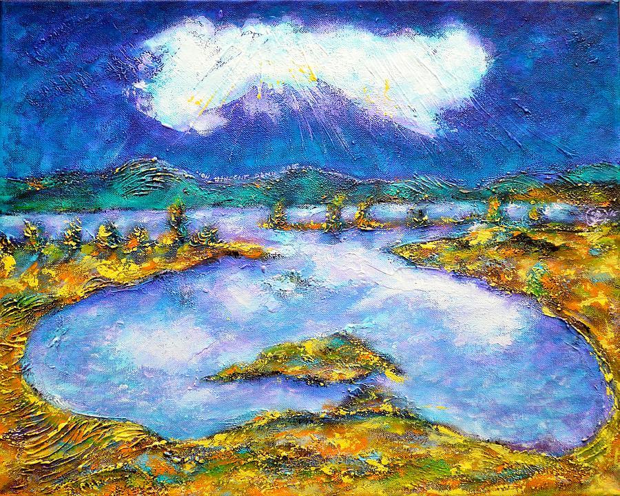 Transylvanian Landscape Painting