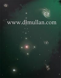 Stars Digital Art - Traquil Vision by DL Mullan